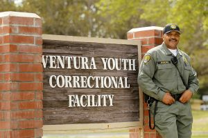 Ron In Front Of Venture Youth Correctional Facility