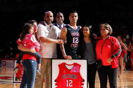 Cezar With His Family