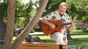Juan Herrera With Guitar