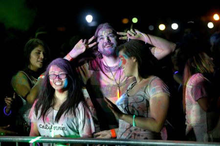 Red Eye 2017, paint party