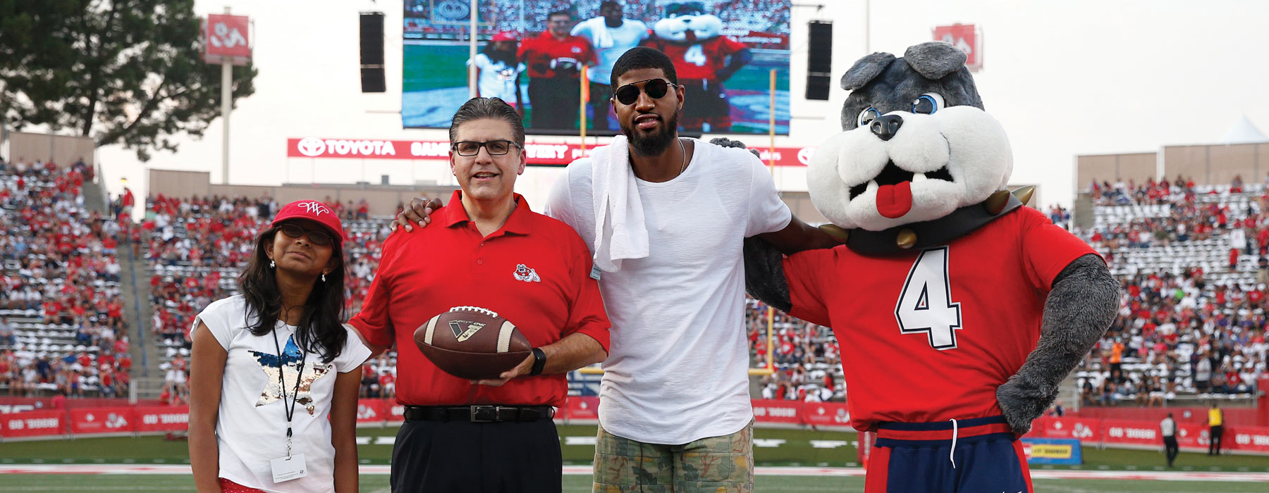 President and Paul George