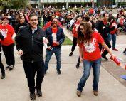 Castro dancing