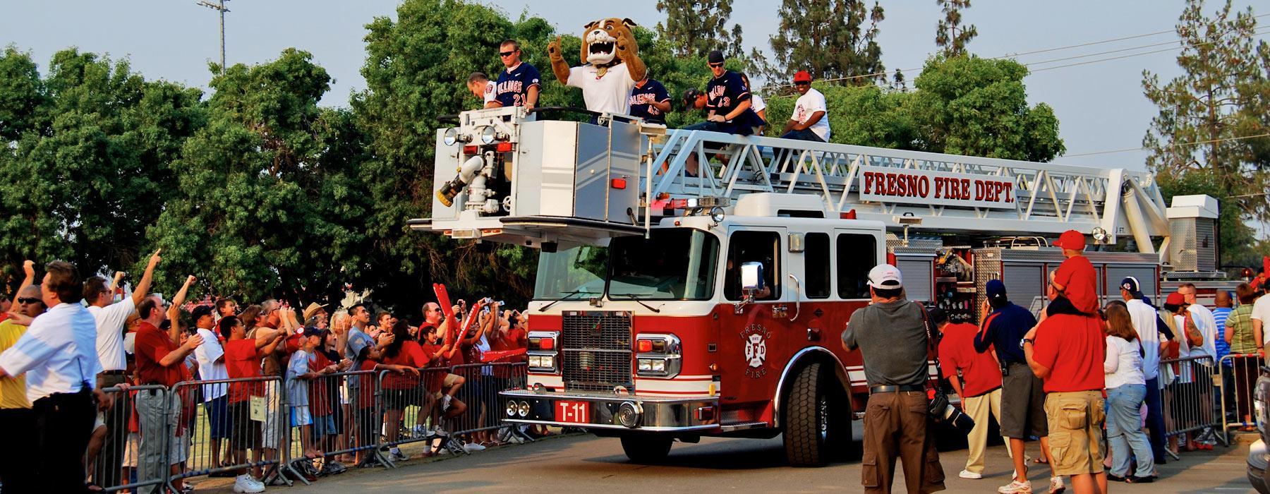 sports fire department