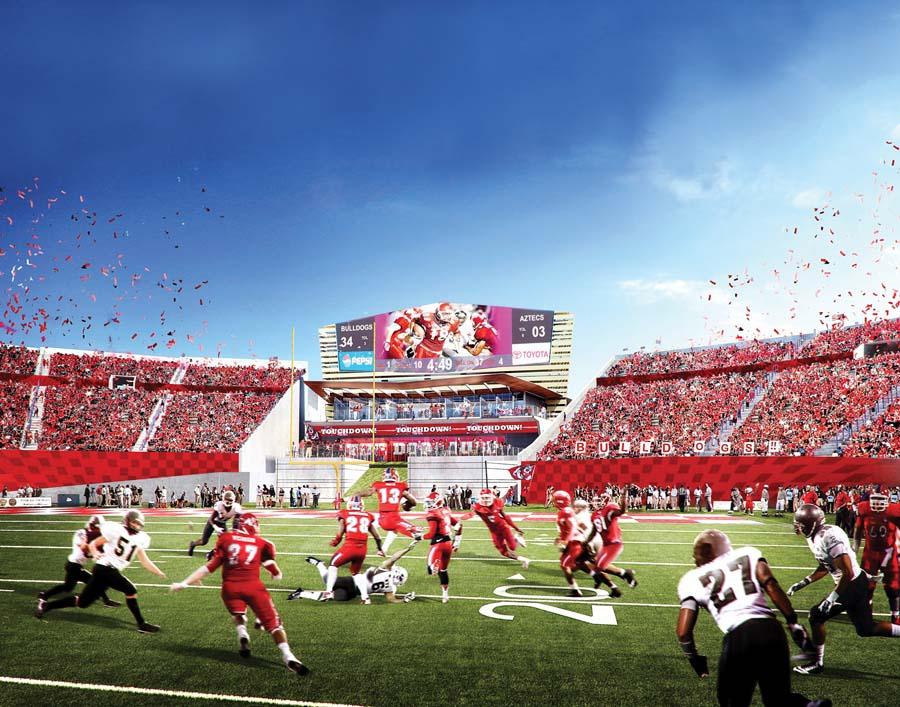 Bulldog Stadium Photo