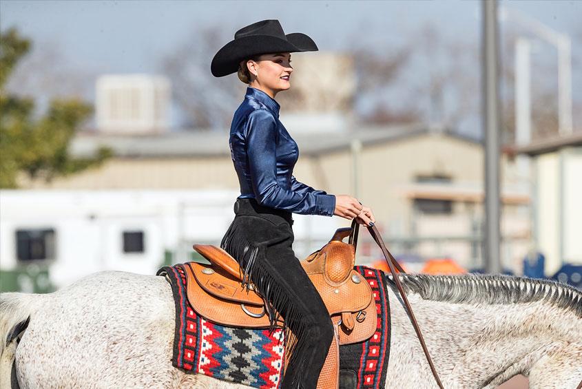 horse-woman